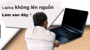 Sửa laptop không lên nguồn